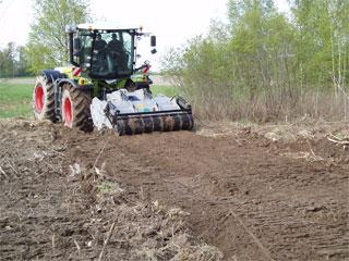Traktor fräs