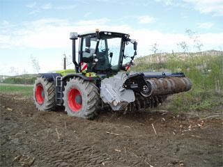 Markberedning traktor